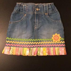 Old Navy jean skirt